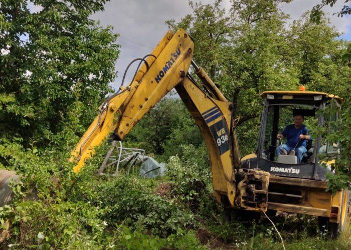 griovimo darbai kasimas medžiai